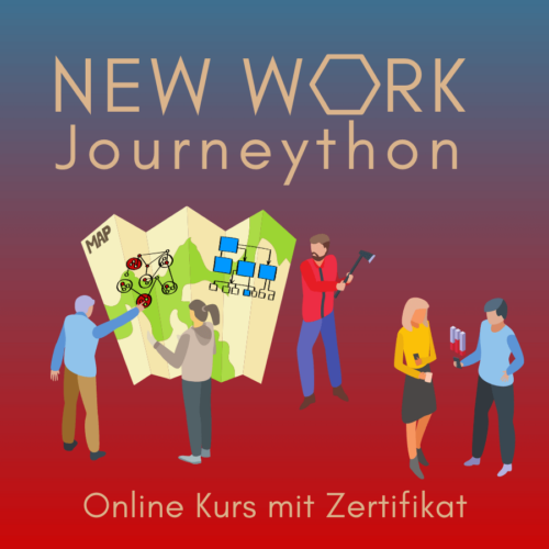 New Work Journeython online Kurs mit Zertifikat