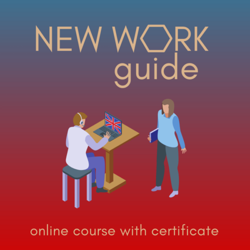new work guide EN online course with certificate