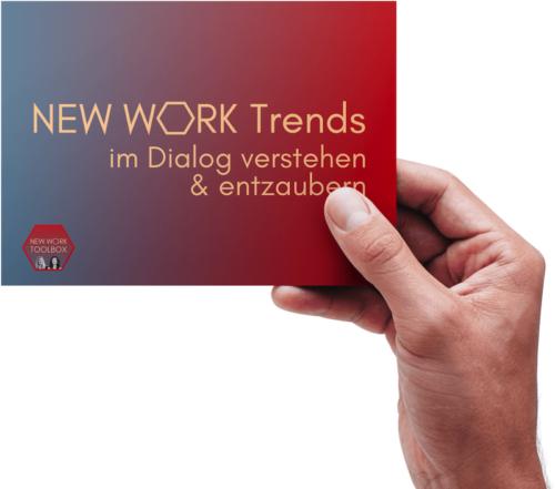 New Work Trends Postkarte